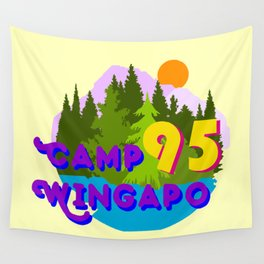 Camp Wingapo Wall Tapestry