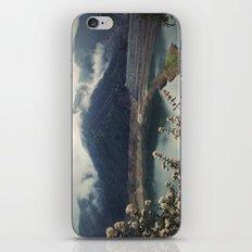San Gabriel Dam iPhone & iPod Skin