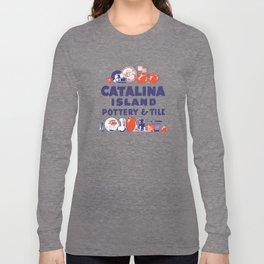 Catalina Island Pottery & Tile #1 Long Sleeve T-shirt