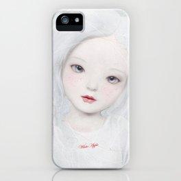 white apple iPhone Case