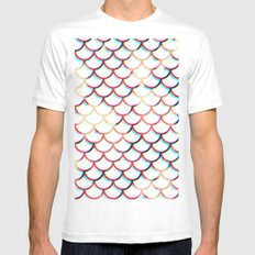 Koi Fish MEDIUM Mens Fitted Tee White