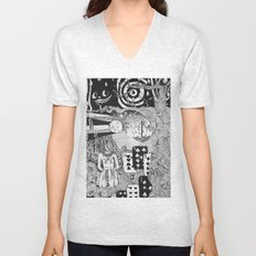 alice's dreams Unisex V-Neck