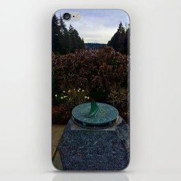 UW Sun Dial iPhone Skin