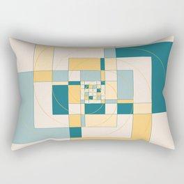 Fibonacci Experiment IV Rectangular Pillow