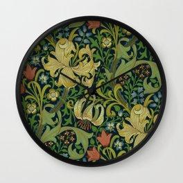 "John Henry Dearle ""Golden Lily"" 1. Wall Clock"