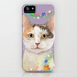 Hurricane Hattie Cat iPhone Case