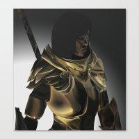 skyrim Canvas Prints featuring Skyrim Armor by J.A.C