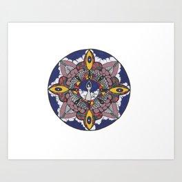 Vibrant Goddess Art Print