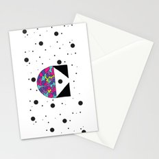 Letter C Stationery Cards