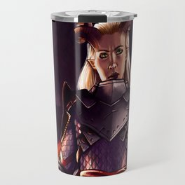 Dragon Age Inquisition - Eva the Qunari warrior Travel Mug
