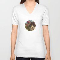 sia V-neck T-shirts featuring 003 by omgcatz