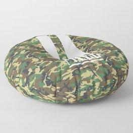 PAUSE – Camo Floor Pillow