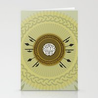shield Stationery Cards featuring Shield  by Daniac Design