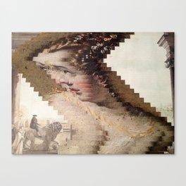 Warped Canvas Print