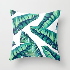 Tropical Glam #society6 #decor #buyart Throw Pillow