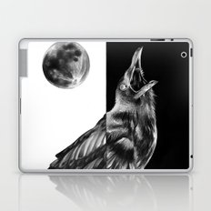 Crow and Full Moon Laptop & iPad Skin