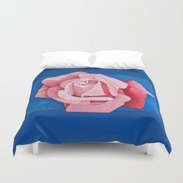 Perfume Delight - Pink Tea Rose Art Duvet Cover