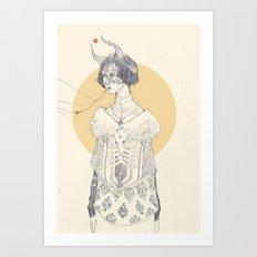 Echoed Art Print