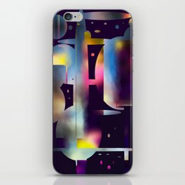 60s Mod Spaceship Abstract iPhone Skin