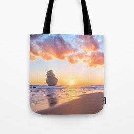 12 Apostles with Marshmallow Skies Tote Bag
