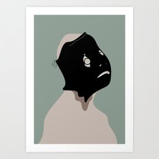 The Black Mask Collection 008 Art Print