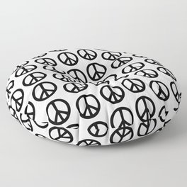 Peace Out Floor Pillow