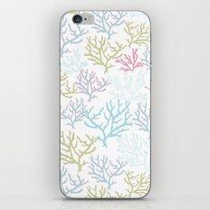 Pink Corals iPhone & iPod Skin