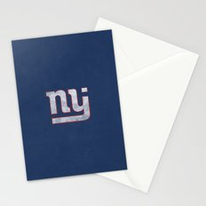 New Jersey Football Giants Stationery Cards