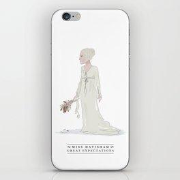 Miss Havisham iPhone Skin