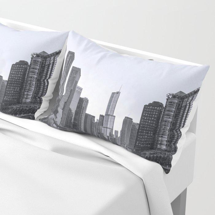 Chicago River Pillow Sham