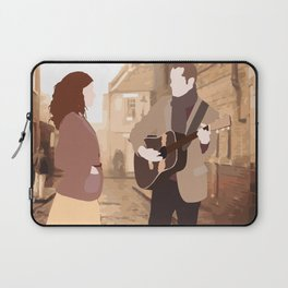 GUY AND GIRL – ONCE THE MUSICAL Laptop Sleeve