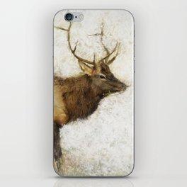 Grand Canyon Elk No. 1 Wintered iPhone Skin