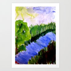 Summer, where are you Art Print