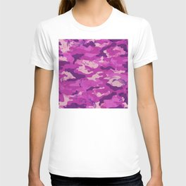Flower Camouflage T-shirt