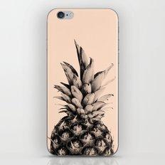 Pineapple on Pink iPhone & iPod Skin