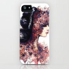 Flower Girl // Fashion Illustration Slim Case iPhone (5, 5s)