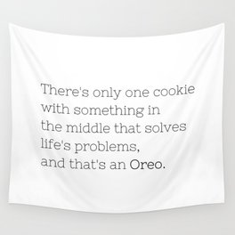 Oreo solves life's problems - TV Show Collection Wall Tapestry