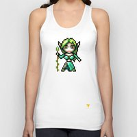 elf Tank Tops featuring Elf by HOVERFLYdesign