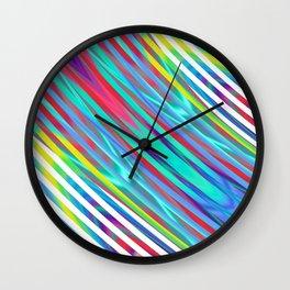 Linear gradience Wall Clock