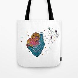 Childhood planet Tote Bag
