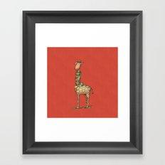 Cleo Giraffe Framed Art Print