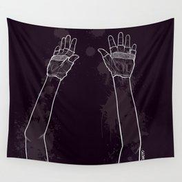 Look Mum No Hands! Wall Tapestry
