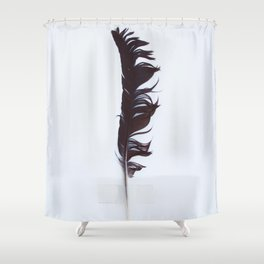 You're just like a feather Shower Curtain