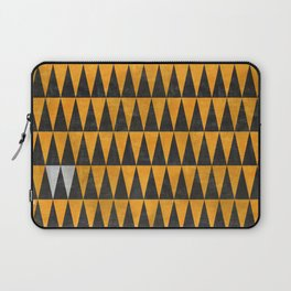 Triangles - White Laptop Sleeve