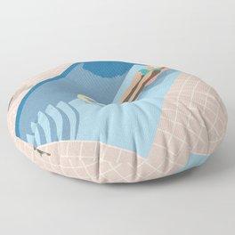 2 COOL 4 POOL Floor Pillow