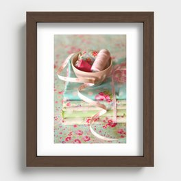 Craft Room - pastel Recessed Framed Print
