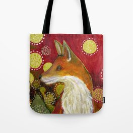 Fox Listens Tote Bag