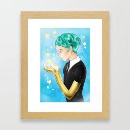 phos / houseki no kuni Framed Art Print