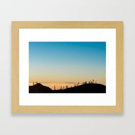 Samara Mountain Framed Art Print