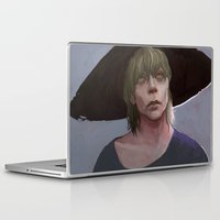 dragon age inquisition Laptop & iPad Skins featuring Cole under the hat Dragon Age Inqusition by Professional Elf